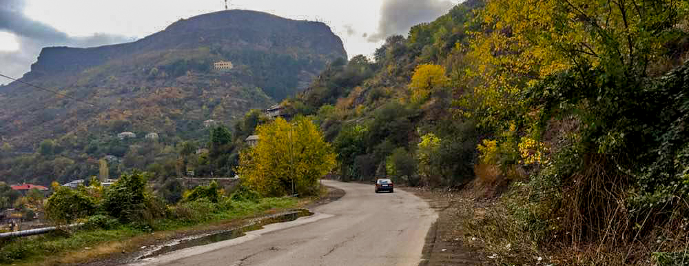 Vanadzor-Alaverdi-Georgian border interstate road rehabilitation works are launched